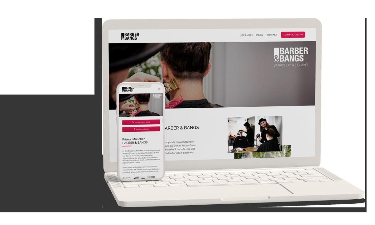 Friseur München - Webseite